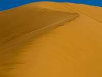 view--transformation of dune Merzouga, Sahara, Morocco, Africa