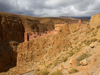 view--hotel timzzillite Dades Valley, Morocco, Africa