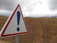 view--warning stunning scenery ahead Dades Valley, Morocco, Africa