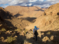 view--berber hike La Festival, Todra Gorge, Morocco, Africa