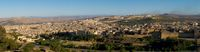 view--fez evening Fez, Imperial City, Morocco, Africa