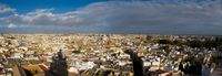 view--seville city Cadiz, Seville, Andalucia, Spain, Europe