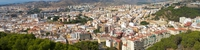 view--malaga north side Malaga, Andalucia, Spain, Europe