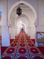 view--koutoubia mosque inside Casablanca, Marrakesh, Imperial City, Morocco, Africa