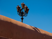 view--silence of the lamp Marrakech, Imperial City, Morocco, Africa