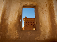 view--kasbah hole Ouarzazate, Interior, Morocco, Africa
