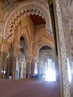 inside hassan ii mosque Casablanca, Marrakesh, Imperial City, Morocco, Africa