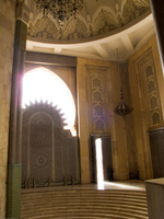 mosque exit Casablanca, Marrakesh, Imperial City, Morocco, Africa