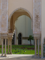 mosque arch Casablanca, Marrakesh, Imperial City, Morocco, Africa