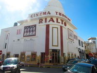 cinema rialto Casablanca, Marrakesh, Imperial City, Morocco, Africa