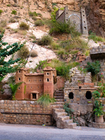 auberge le veux chateau Ouarzazate, Boumaline, Dades Valley, Morocco, Africa