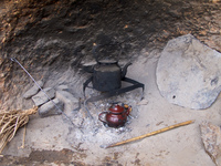 berber kettle Boumalne, Dades Valley, Morocco, Africa