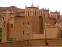 new kasbah Ait Arbi, Dades Valley, Morocco, Africa