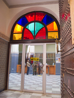 bank in medina Fez, Imperial City, Morocco, Africa