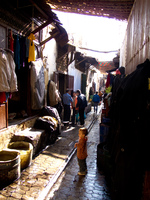 fez souks kid Fez, Imperial City, Morocco, Africa