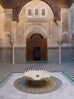 stone fountain Fez, Imperial City, Morocco, Africa