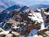above toubkal Imlil, Atlas Mountains, Morocco, Africa