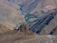 toubkal valley Imlil, Atlas Mountains, Morocco, Africa
