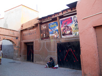 cinema ed eden Marrakech, Imperial City, Morocco, Africa