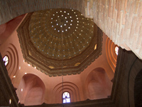 domed ceiling of opera house Ouarzazate, Interior, Morocco, Africa