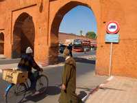 bab er-rob Marrakech, Imperial City, Morocco, Africa