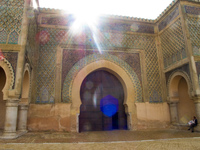 bab mansour Meknes, Imperial City, Morocco, Africa