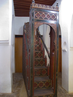 minbar Meknes, Imperial City, Morocco, Africa