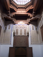 museum dar jamai decoration Meknes, Imperial City, Morocco, Africa