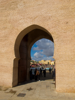 bab entrance Meknes, Imperial City, Morocco, Africa
