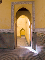 mausolee moulay ismail  exit Meknes, Imperial City, Morocco, Africa