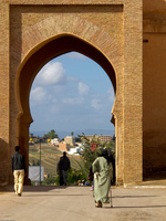 meknes gate Meknes, Imperial City, Morocco, Africa