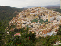 moulay idriss city Meknes, Moulay Idriss, Imperial City, Morocco, Africa