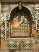 muslim foundtain Meknes, Moulay Idriss, Imperial City, Morocco, Africa