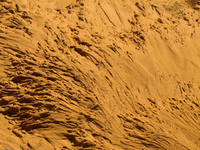 sand and water Merzouga, Sahara, Morocco, Africa