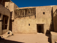 old hebrew village Ouarzazate, Interior, Morocco, Africa