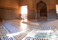 saadi tomb temple Marrakech, Imperial City, Morocco, Africa