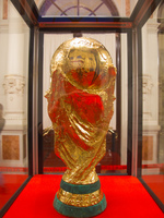 fifa world cup trophy Seville, Malaga, Andalucia, Spain, Europe