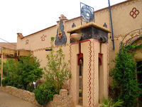hotel--hotel les 5 lunes Ait Arbi, Dades Valley, Morocco, Africa