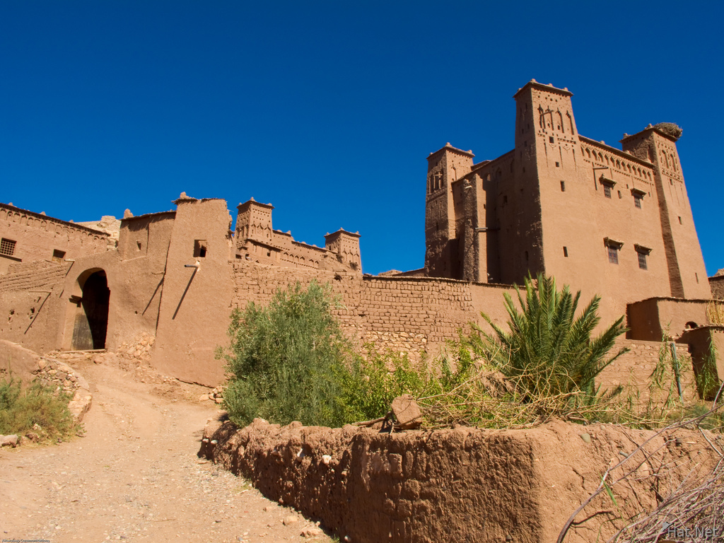 view--entrance to ait ben haddou
