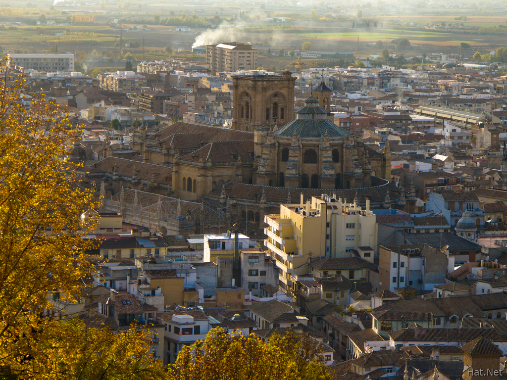 view--cathedral from torre de las armas