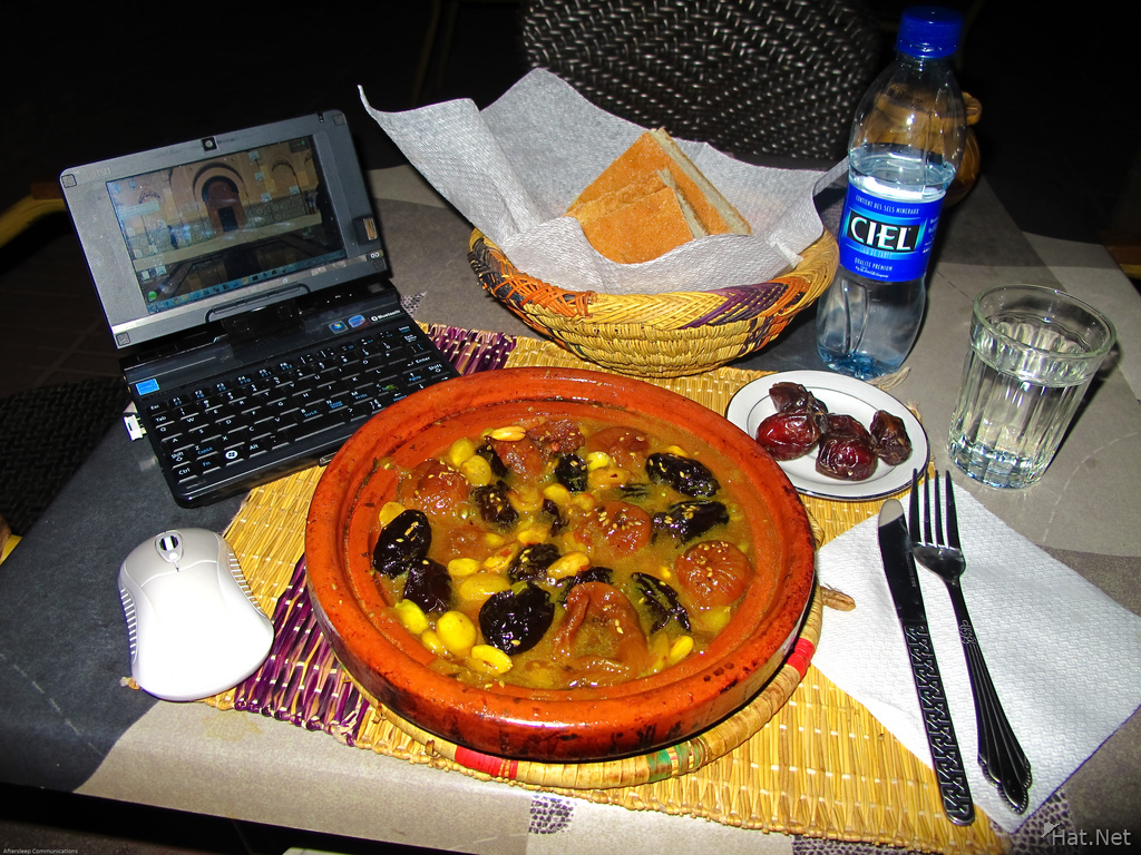 view--fruit tagine in hotel amlal
