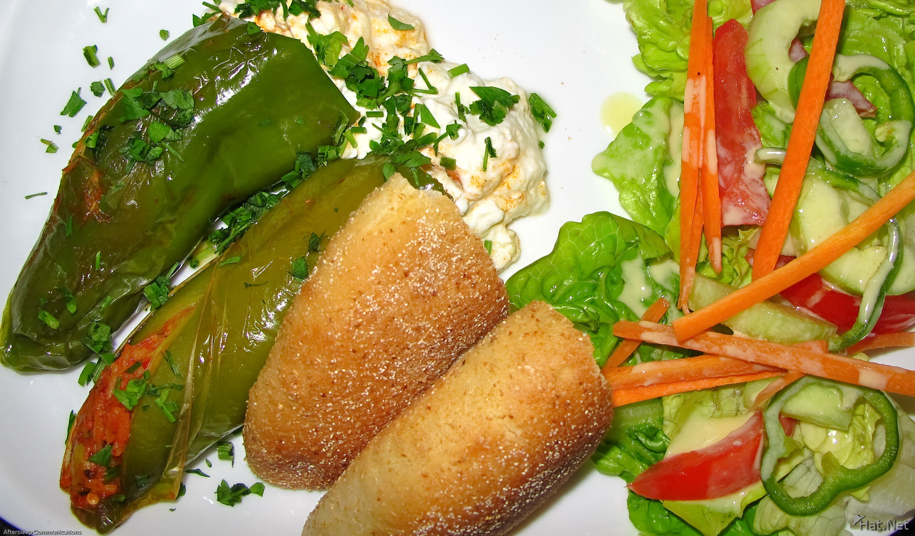 view--stuffed pepper at clock cafe fez