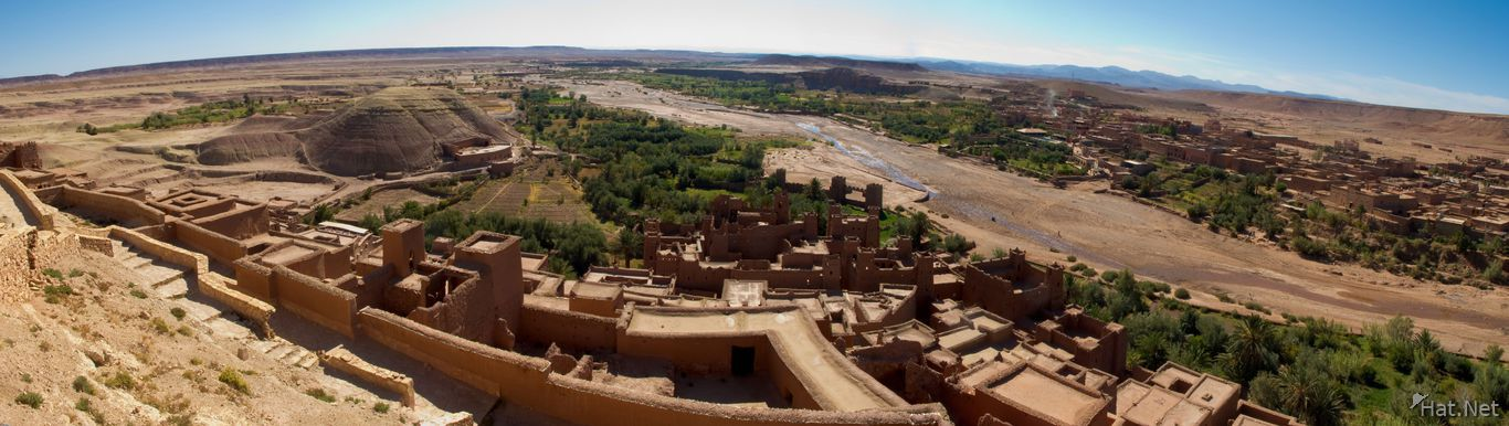view--panorama of ait ben haddou