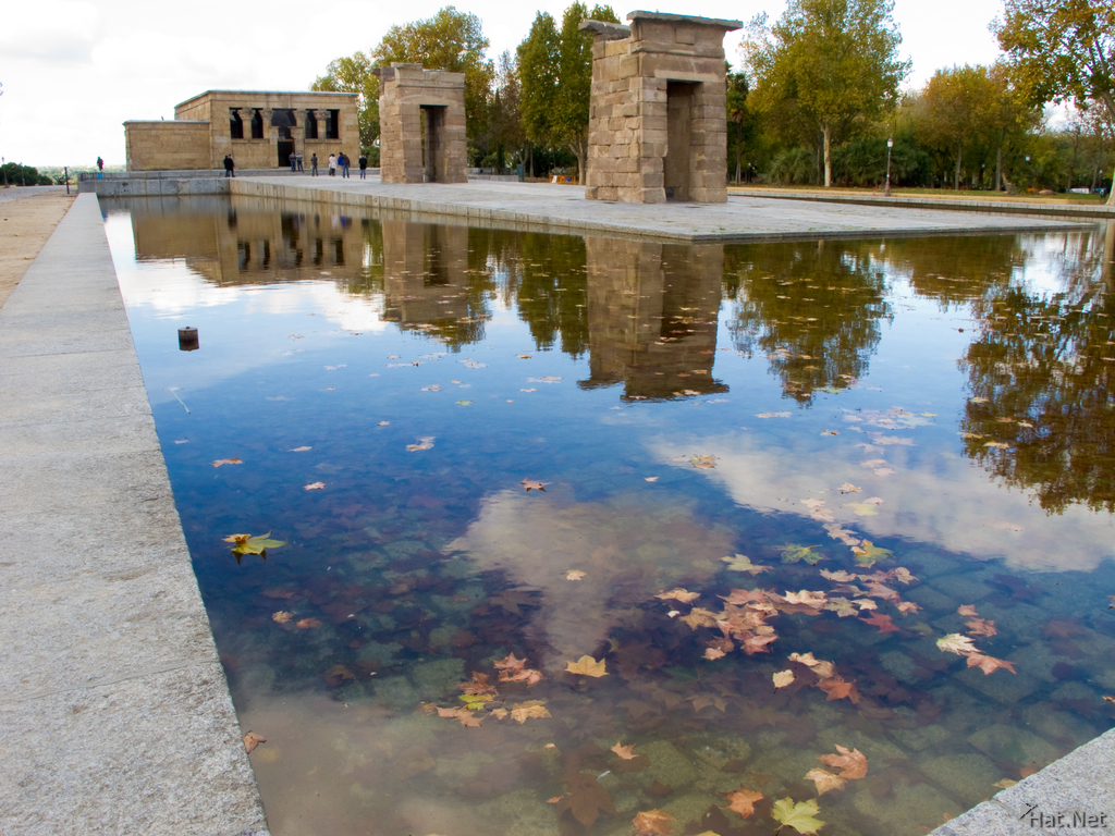 view--temple of debod