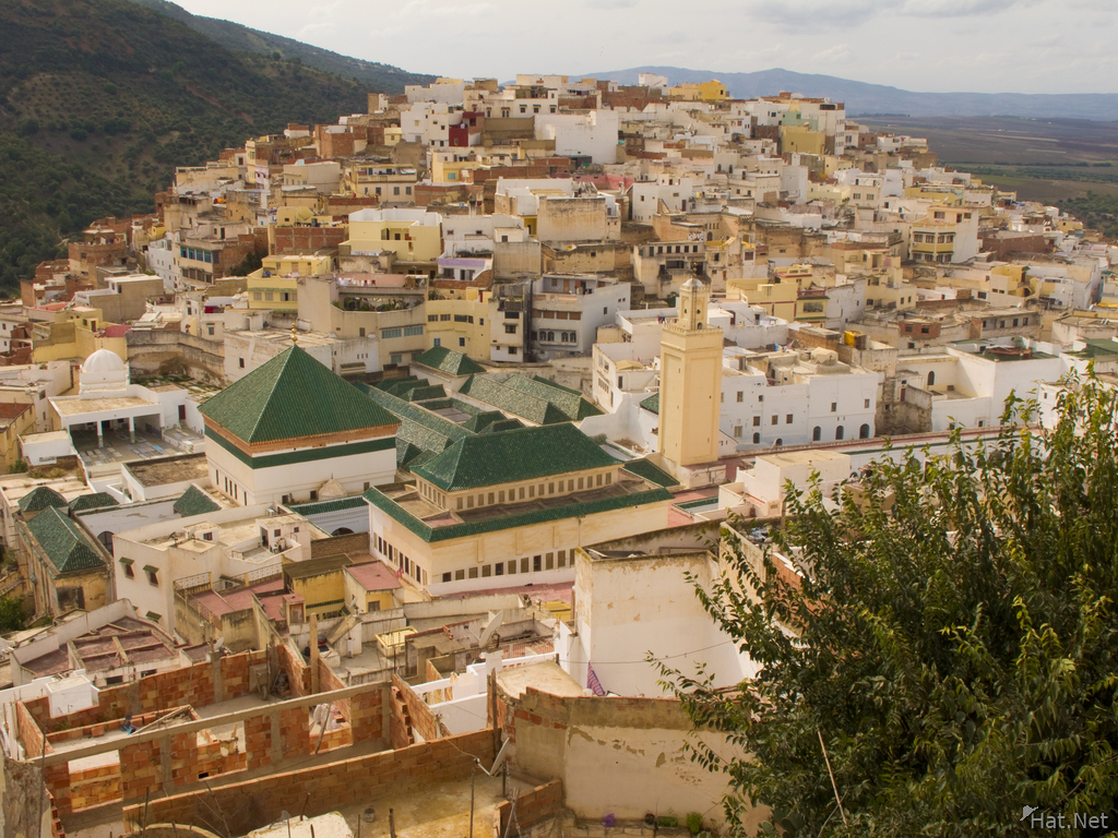 view--moulay idriss town