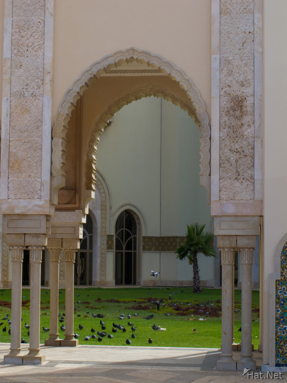 mosque arch