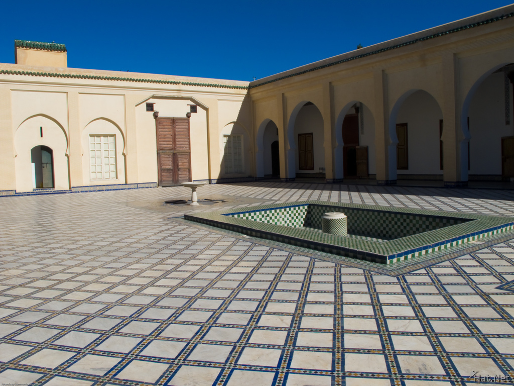 batha museum courtyard