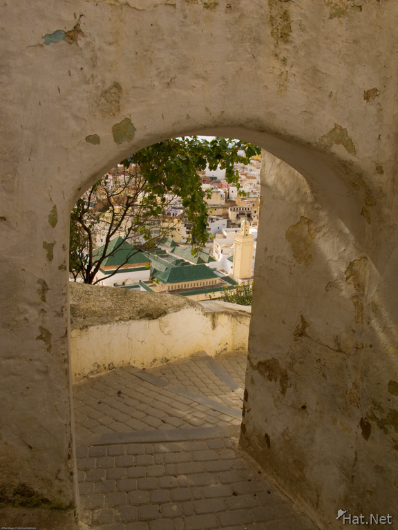 staircase to moulay idriss