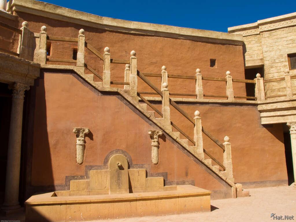 Film Setting  Studio Oscar Hotel   Moorish Empire