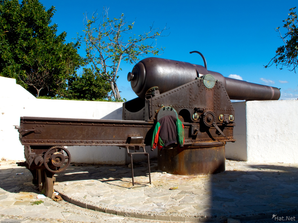 tangier sea side cannon